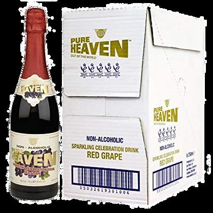 Box of Pure Heaven Red Grape Non-alcoholic Wine