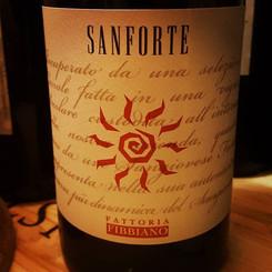 Il #sanforte e' un vitigno locale, antic