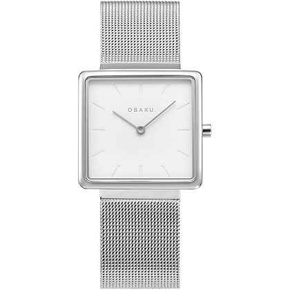 Kvadrat - Steel - Analog Watch