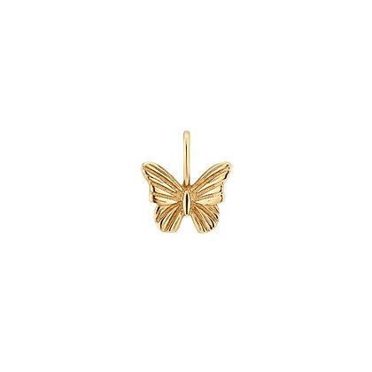 14KY FLUTTER | Butterfly Charm