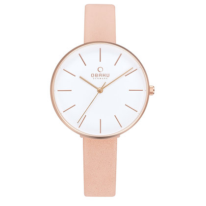 Mynte - Nude - Analog Watch