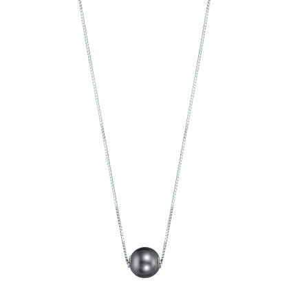 14KW Dyed Black Pearl Pendant