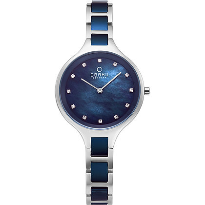 Iris - Bluesteel - Analog Watch