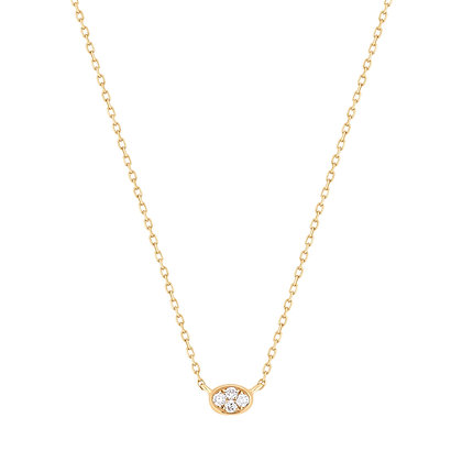 14KY BEBE   Diamond Necklace