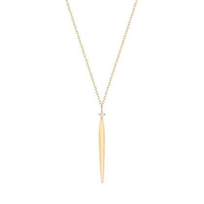 14KY JOSEPHINE | Dagger Necklace