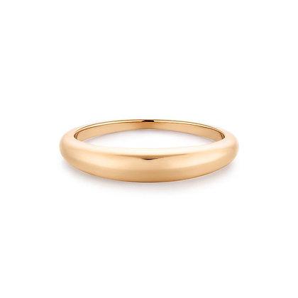 14KY LARA   Curved Ring
