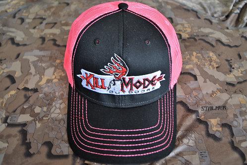 Kill Mode Outdoors Cap  Pink/Black