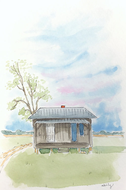 Sharecropper's House