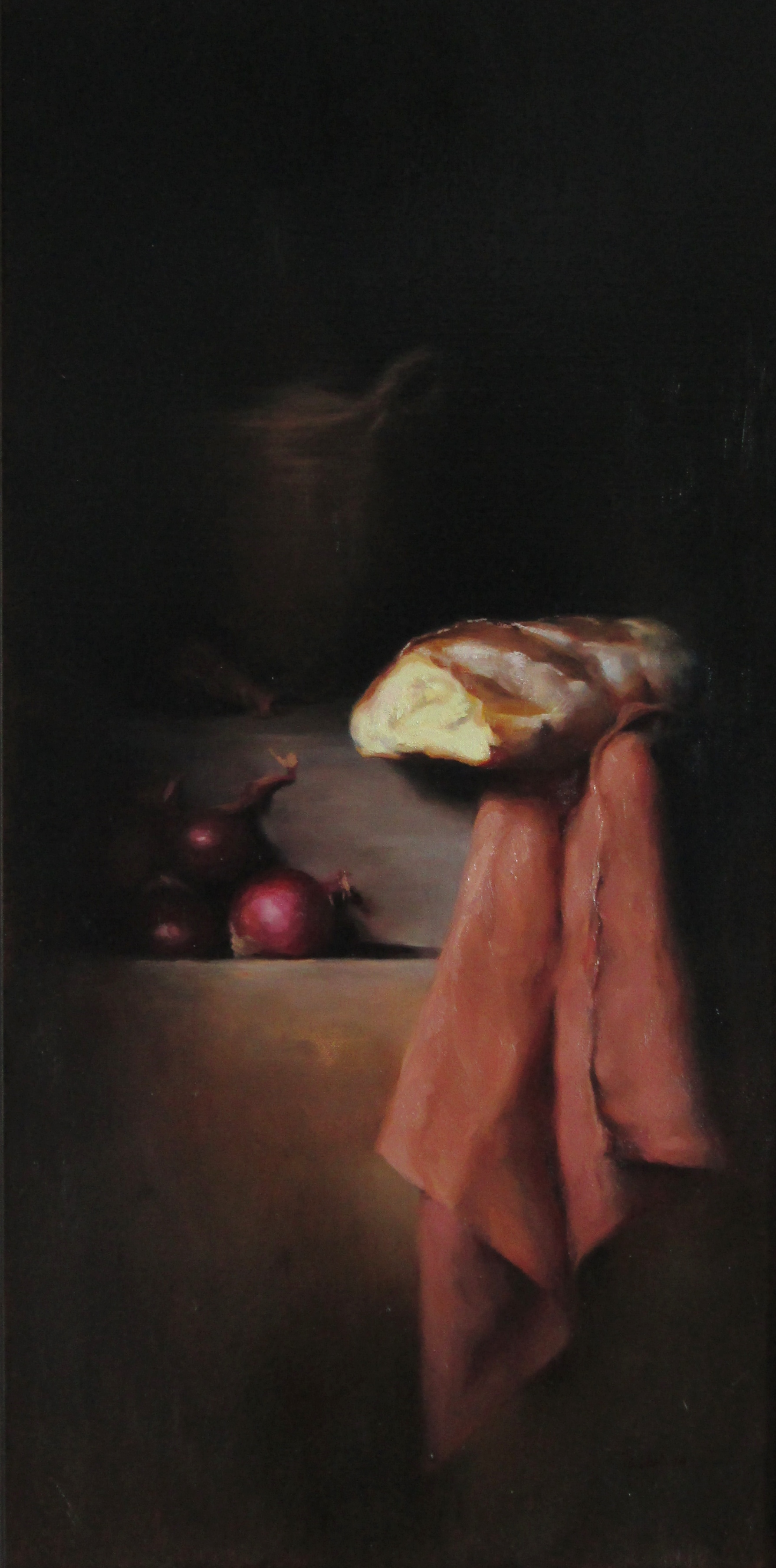 STILL LIFE WITH BREAD (sold)