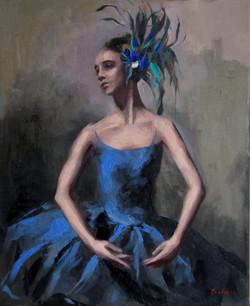 Peacock ballerina