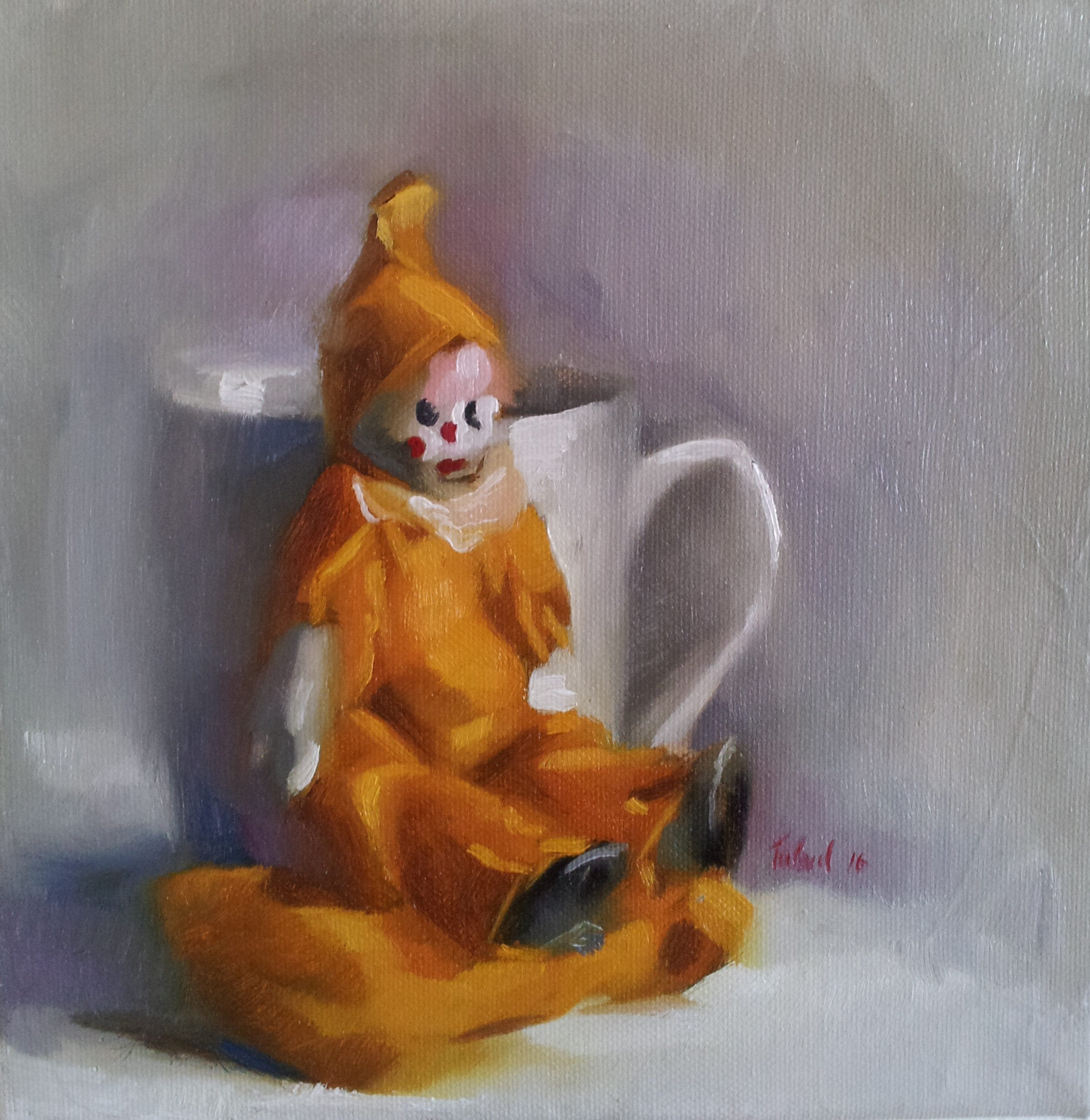 YELLOW CLOWN (sold)