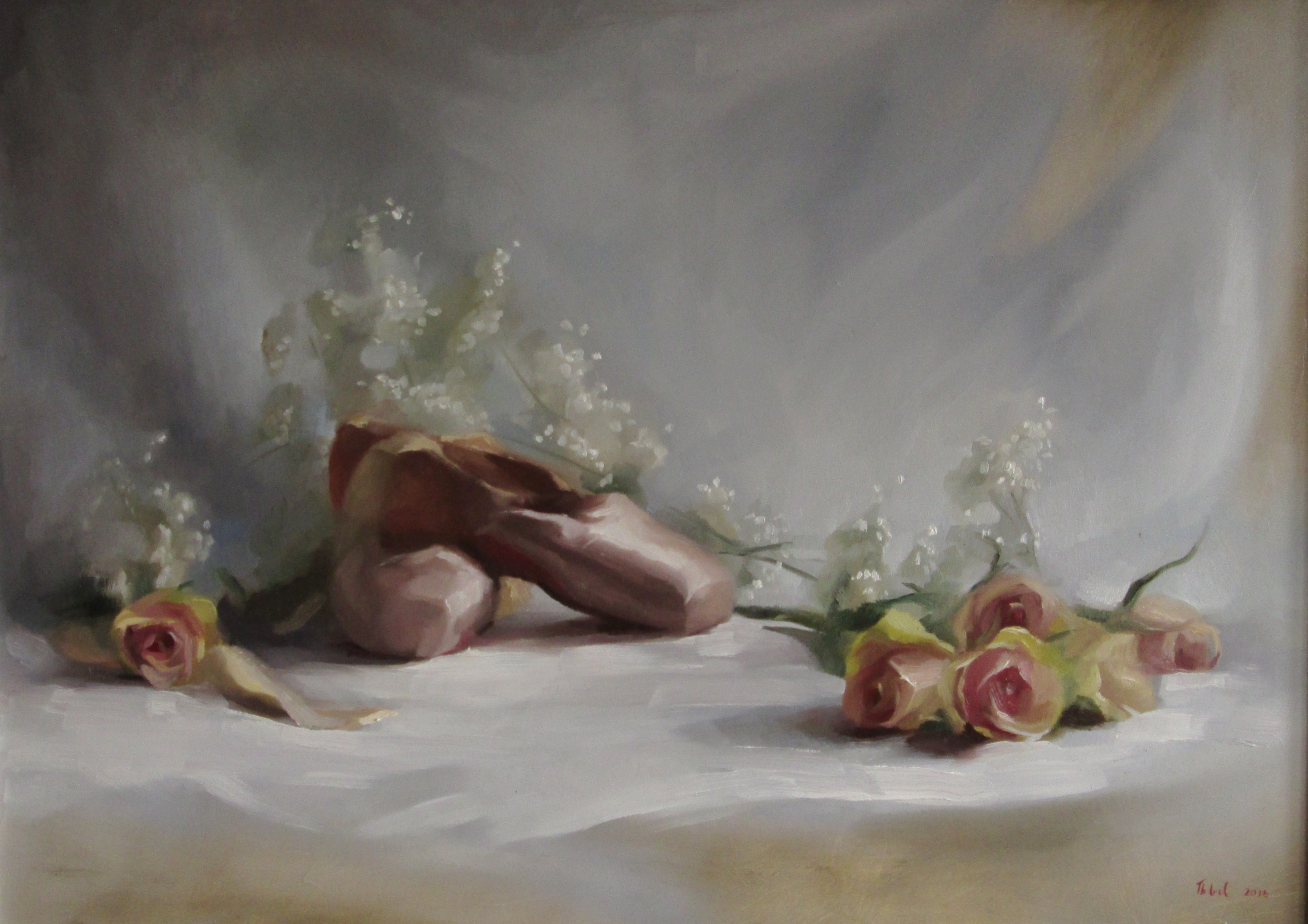 BALLET ROSES COMMISSION (sold)