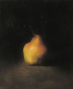 una pera