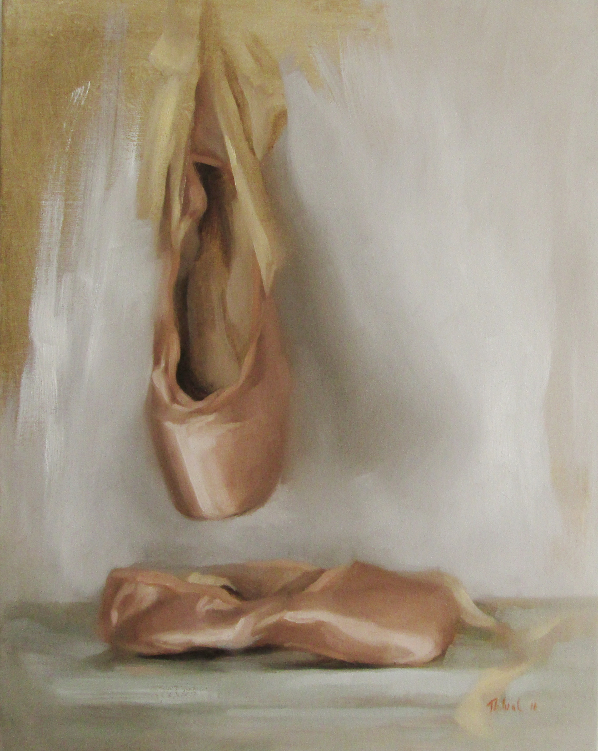 BALLET SLIPPERS (sold)