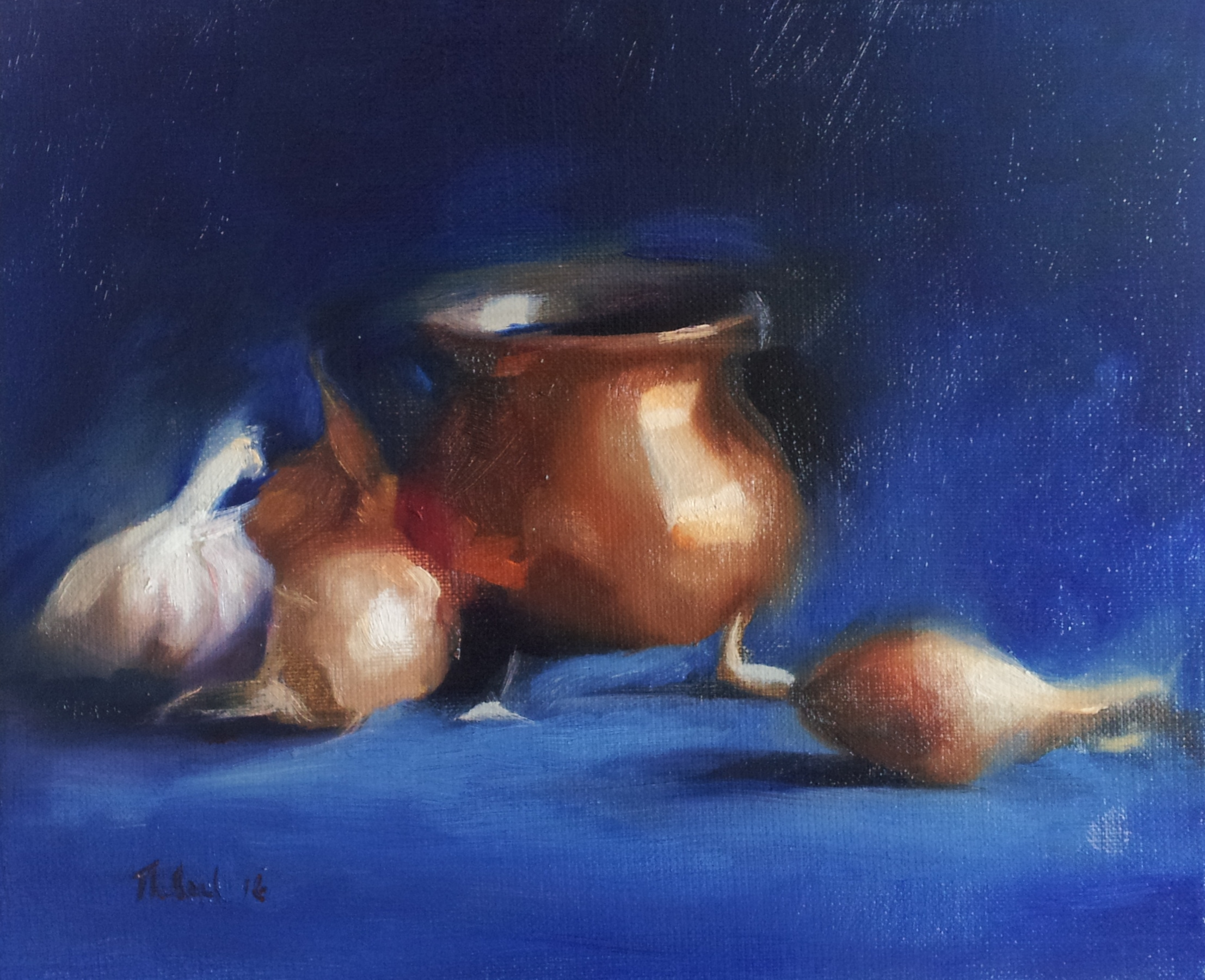 COPPER AND GARLIC (sold)