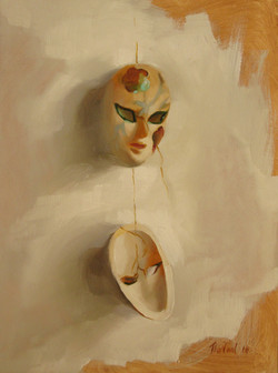 HANGING MASKS (sold)