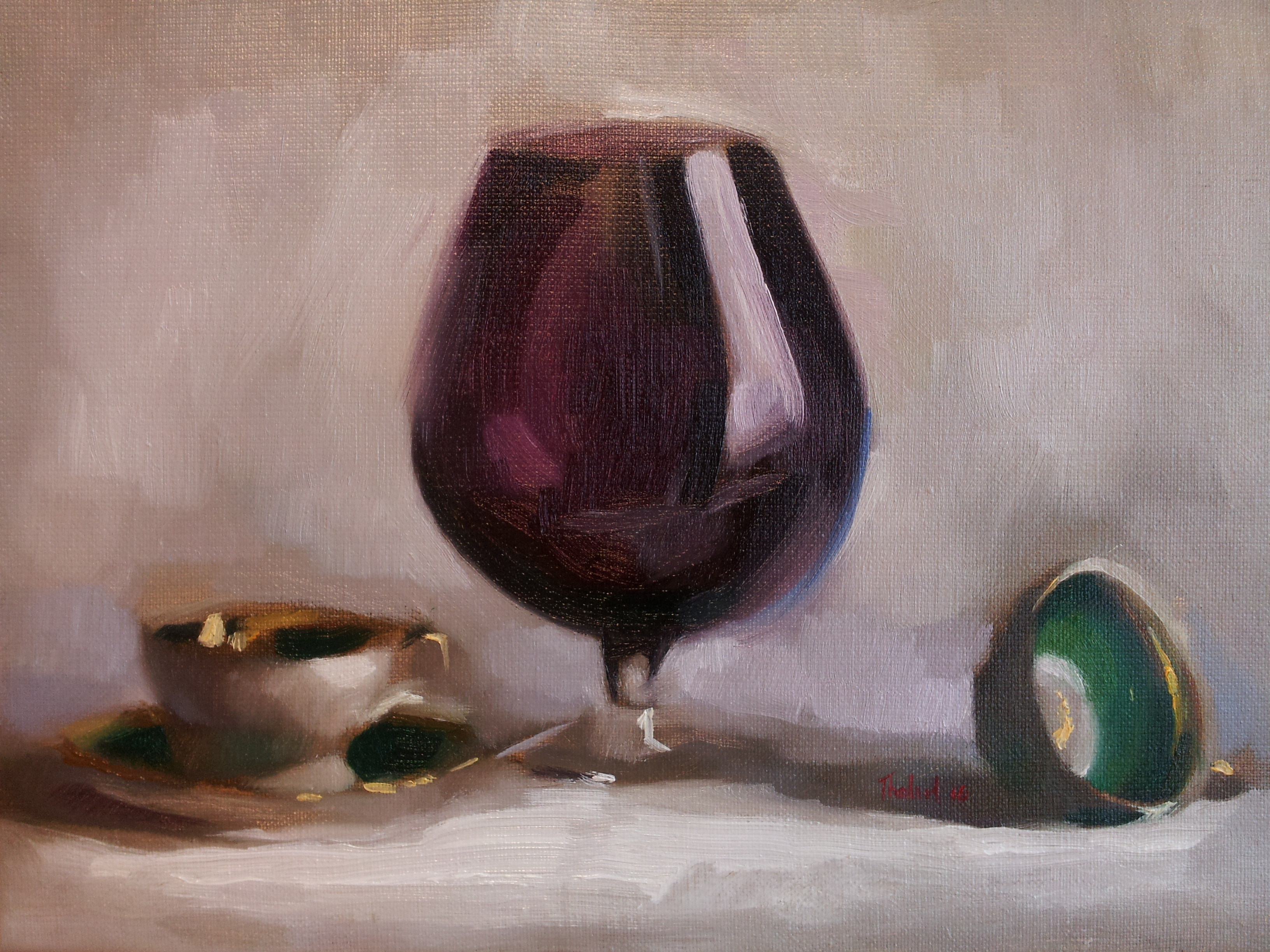 WINE OR TEA (sold)
