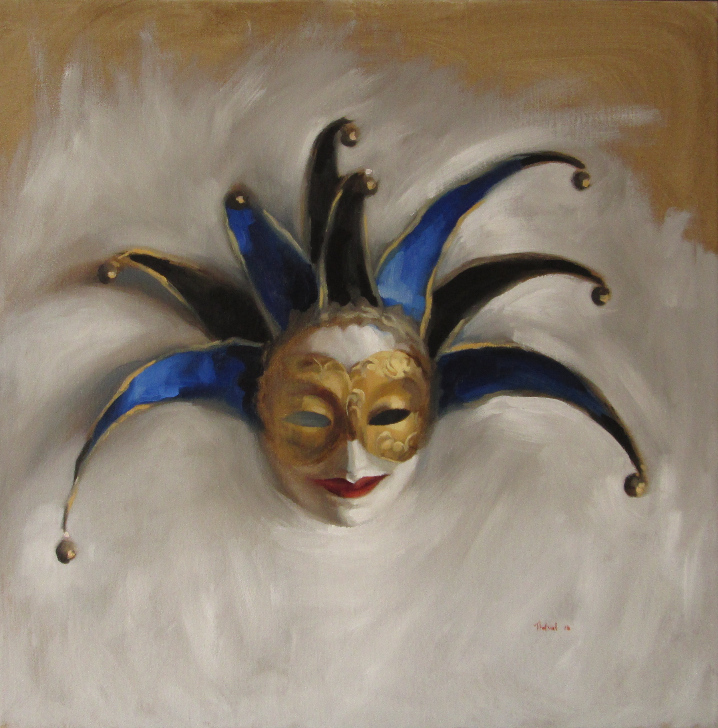 THE VENETIAN MASK (sold)
