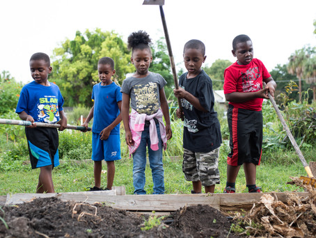 Youth Gardening Taught as a Way of Life