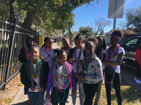 THJCA Students Walk with Pride in MLK Day Parade
