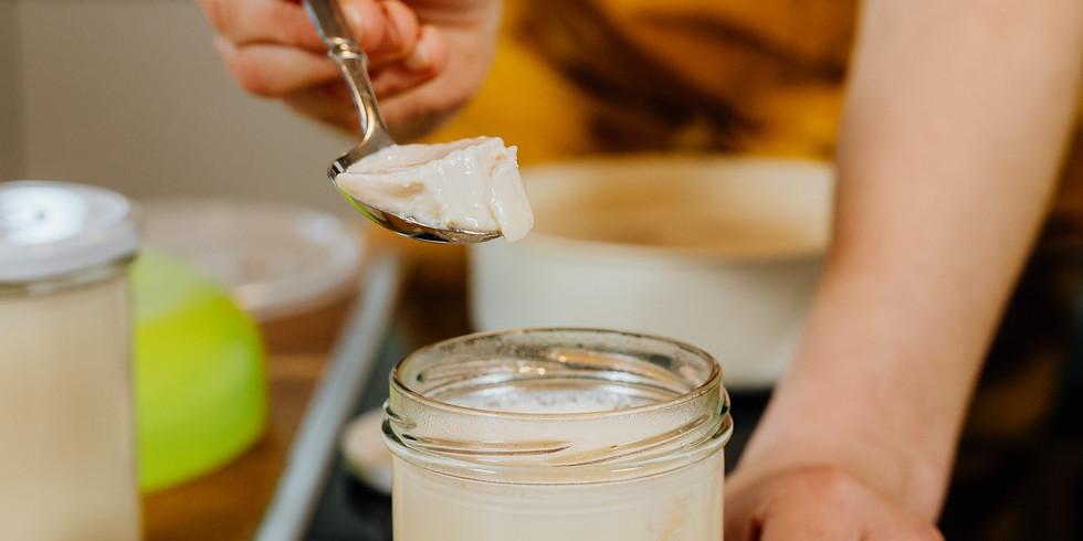 Wasserkefir & pflanzliches Joghurt