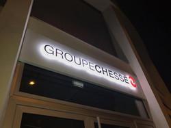 Groupe Chessé_Enseigne Communication une