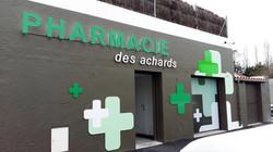 Pharmacie des achards_Enseigne Communica