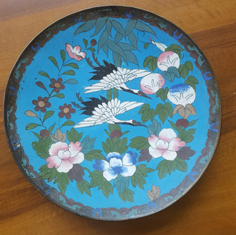 Platte Cloisonet Japan