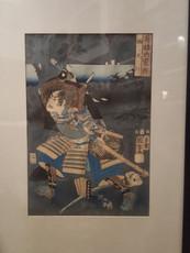 Japanischer Holzschnitt