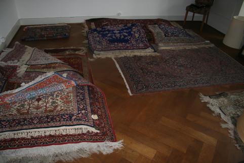 Grosse Auswahl an semi Antiken Teppichen