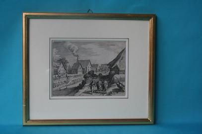 Kupferstich Therwil