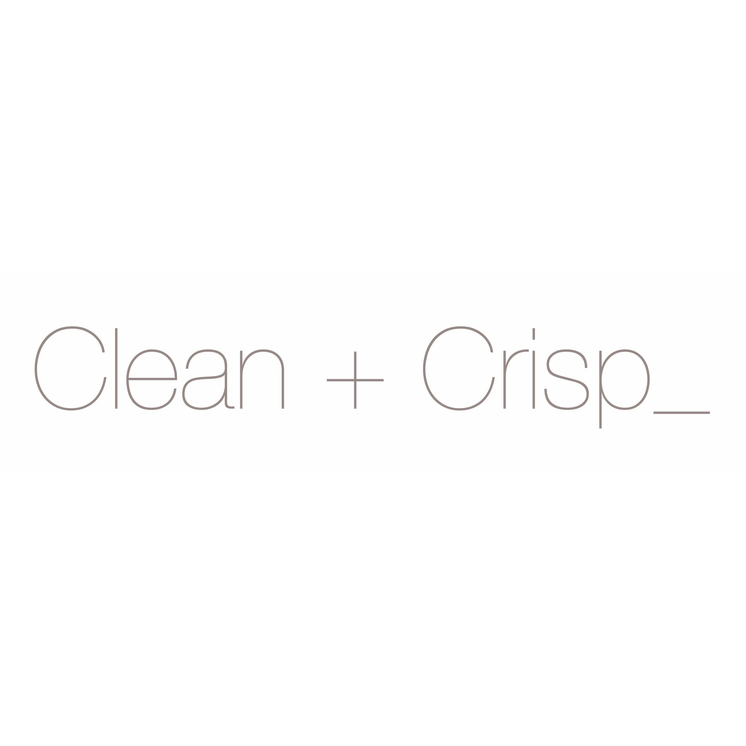 Clean + Crisp