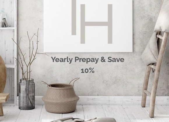 TAVÉ yearly (prepay and save 10% off) Home Decor Subscription