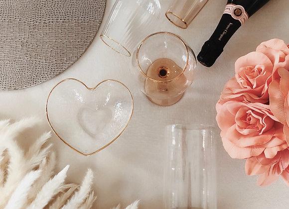Belted & Branded -Light tan leather cylinder vase