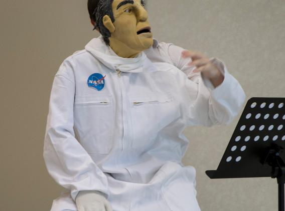 Portrait d'un Astronaute