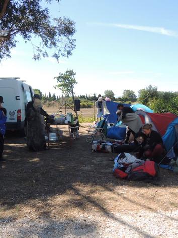 Tout le monde au camping !