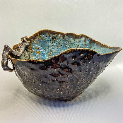 URCHIN TEST 3 - decorative ceramic dish
