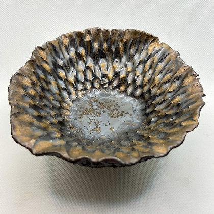 SCORIA BLOOM - decorative ceramic dish