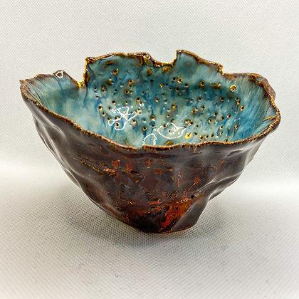 URCHIN TEST 2 - decorative ceramic dish