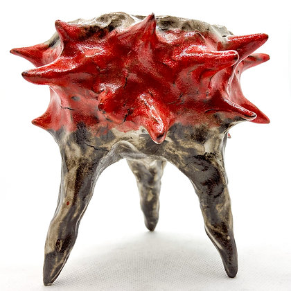 SPINY CUP 3 - decorative ceramic dish