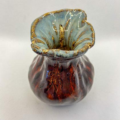 FEATHER VASE 1 - decorative ceramic vase