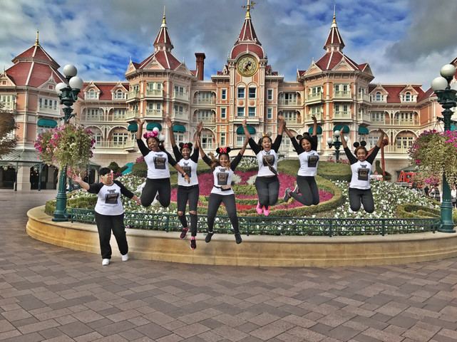 Disney World Over Paris