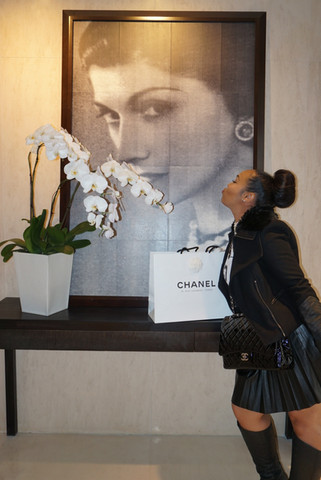 Flaship Chanel Store in Paris, France
