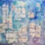 28 - La danse du corail (huile, acryliqu