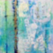 15 - Siberian Blues (huile, acrylique, c
