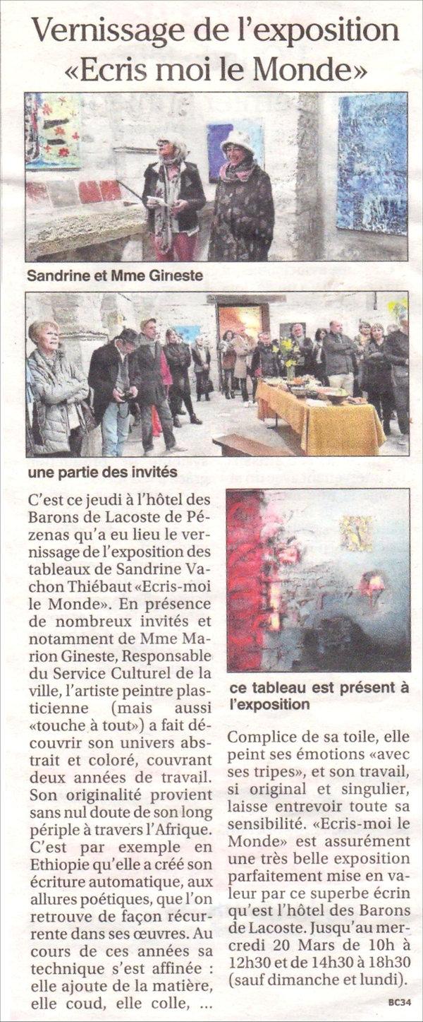 presse - Petit Journal jeudi 14 mars 201