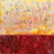 31 - Parle avec le Soleil (huile, acryli