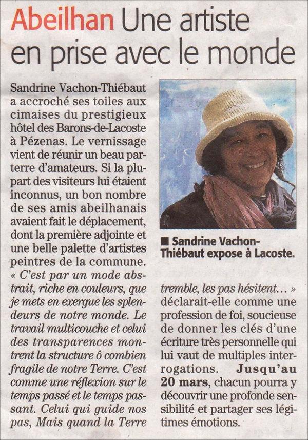 presse - Midi Libre jeudi 14 mars 2019.j