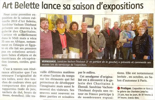 Ebreuil presse - La Montagne Vichy 13 ju
