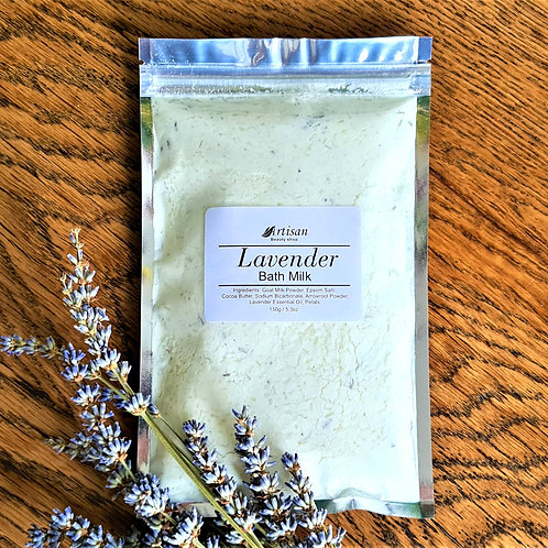 Lavender Goats Bath Milk